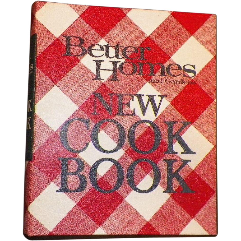 1968 Better Homes and Gardens New Cookbook