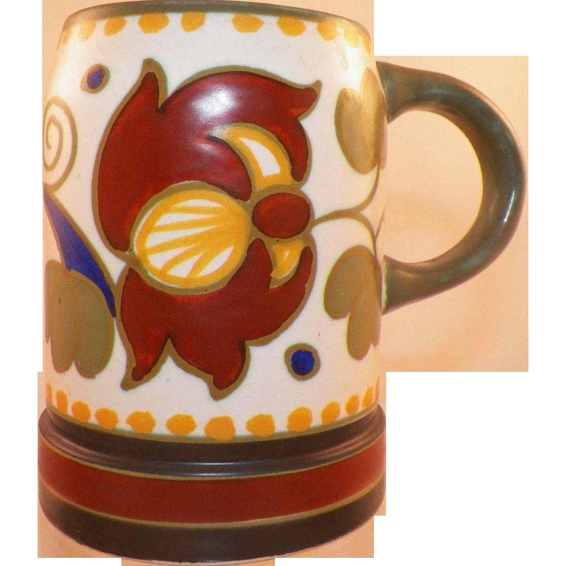 Vintage Gouda Holland Mug Stein