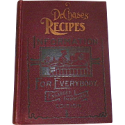 Book: Dr. Chase's Recipes Information For Everybody 1902