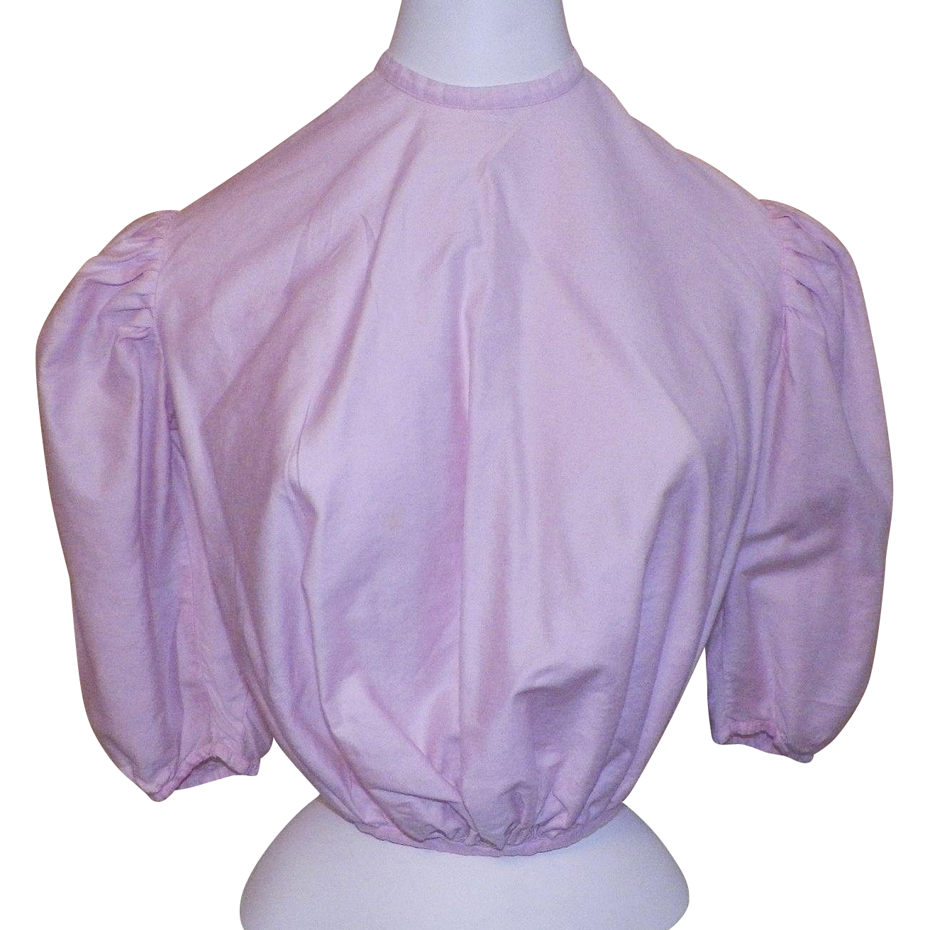 Victorian Pink Cotton Bodice / Blouse