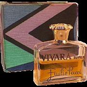 Emilio Pucci Vivara Super Perfume In Original Box