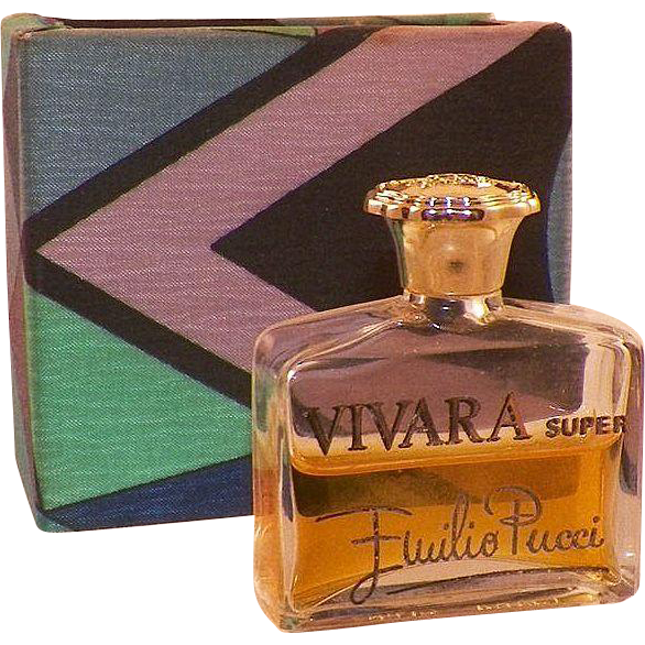 Emilio Pucci Vivara Super Perfume In Original Box