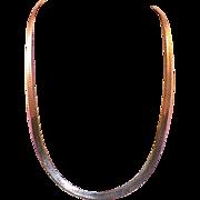 """Elegant Italian Sterling Snake Chain 24"""""""