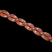 Vintage Bell Solid Copper Bracelet