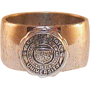 Vintage Sterling Class Ring Arizona State University