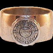 Vintage Sterling Class Ring Arizona State University
