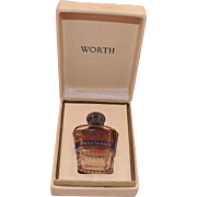 Vintage Worth Perfume Dans La Nuit With Original Box