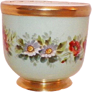 Vista Alegre Portugal Floral and Gilt Flower Pot