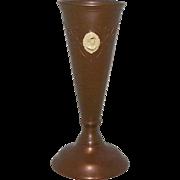 Benedict Athenic Bronze Cameo Vase