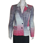 Christian Lacroix Silk and Wool Jacket Size 42/8