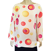 Louis Feraud Silk Top / Blouse