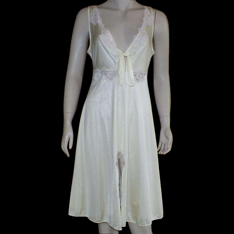 Nylon Nightgown 77