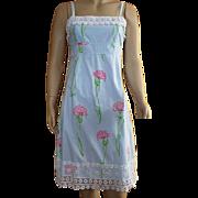 Lilly Pulitzer Carnation Print Sun Dress Size 2