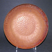 Arts And Crafts Hand Wrought Hammered Copper Bowl By W.H. Dunstan