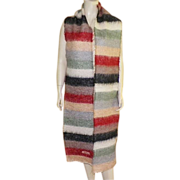Mohair and Wool Very Long Moschino Scarf Made In Italy