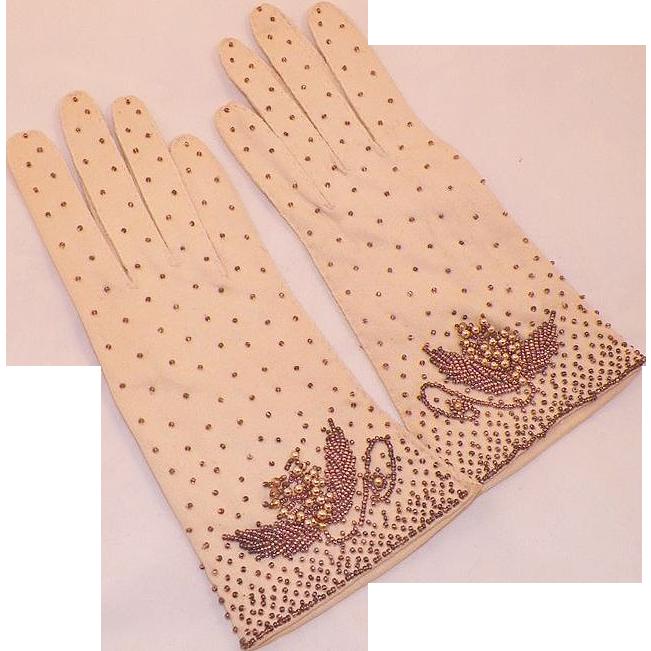 Vintage Cotton Gloves 69
