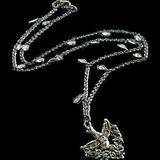 Saint Esprit Dove - Paste Heart Vinaigrette - Rock Crystal Layering Necklaces - Set (3) - Saint Esprit II Necklace