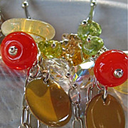 Earrings ~ AUTUMN CHILES ~ Brilliantly Colorful