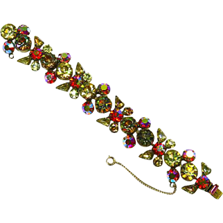 Regency signed Rhinestone Bracelet – Magnificent