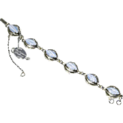 Alice Caviness Pale Blue Moonstone and Sterling Filigree Bracelet – Original Tag