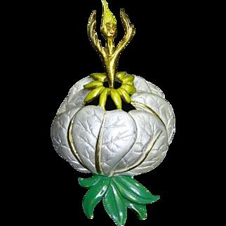 Garden Fairy/Ballerina Pin – Rare – Fantasia Inspired – 1940s