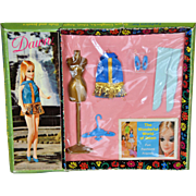 Dawn Doll Flirty Flounce Outfit NRFB c. 1970