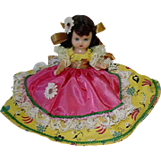 "Nancy Ann Storybook Doll ~ 6"" Hard Plastic, Sleep Eye #185 Saturday ~ MIB"