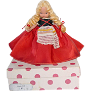 Nancy Ann Storybook Doll #169 Goose Girl  ~ Bisque FL Doll W/Box