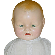 "18"" Horsman Composition DIMPLES BABY DOLL"