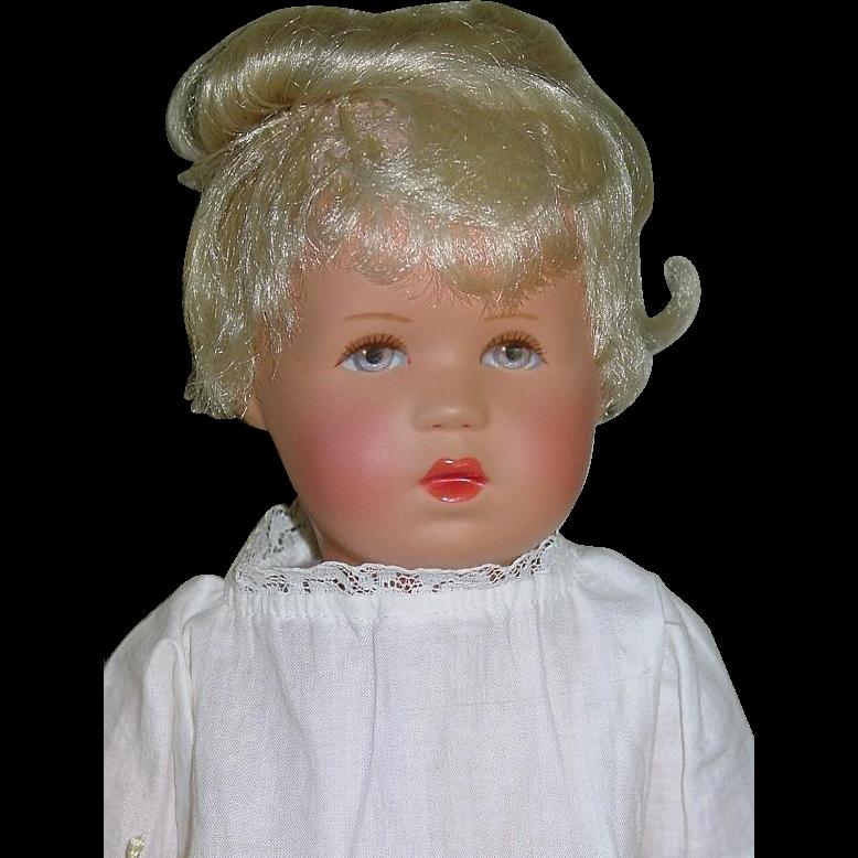 """KATHE KRUSE 13"""" Baby Rumpumple Model Mint 1960s Doll"""