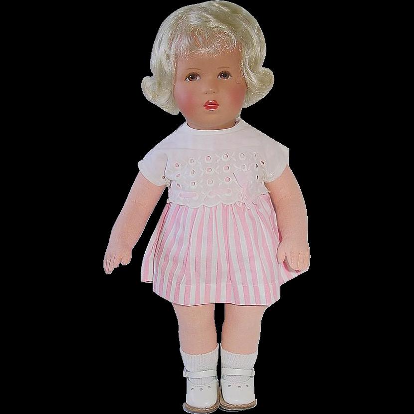 """Vintage Kathe Kruse 12"""" Child Doll  ~ Mint!"""