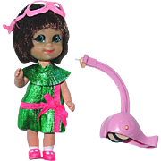 Vintage Mattel LIDDLE KIDDLE ~ Harriet Helididdle 1968-70
