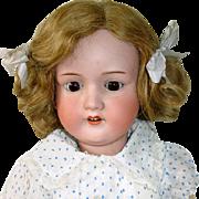 "Large Antique 30"" A.M. 390 Armand Marseille German Bisque Doll"