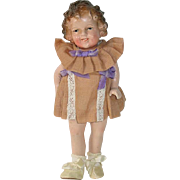 "Japanese Composition 7 1/2"" Shirley Temple Doll"