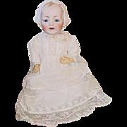 "Antique German 18"" KESTNER Bald Head Character Baby JDK"