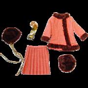Mod 1969 Barbie Fashion #1486 WINTER WOW
