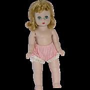 """Vintage BKW 8"""" Alexander-kin ~ Blonde W/Tagged Panties"""