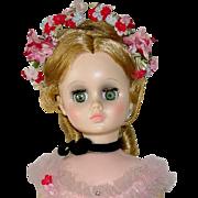 "VINTAGE Madame Alexander 17"" ELISE Pink Ballerina Mint W/ Wrist Tag"