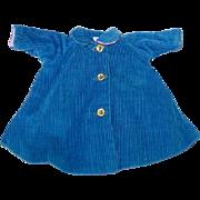 Vintage 1958 Madame Alexander CISSETTE Reversible Blue Coat
