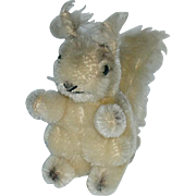 "Vintage Steiff Possy Squirrel ~ Small 4"" Mohair"