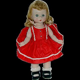 Vintage 1956 SL Walker ~ Alexander-Kin Doll in SCHOOL DRESS