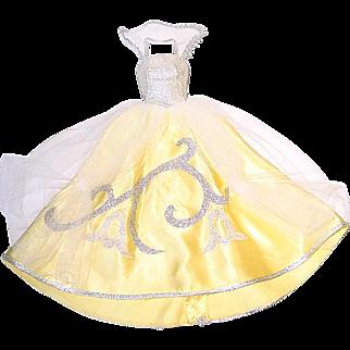 Vintage Barbie Fashion ~ #872 Rich Cinderella Gown and Gloves