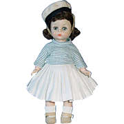 Vintage 1956 BKW ~ Alexander-Kin Doll ~ Wendy in Basque-Style Outfit #574