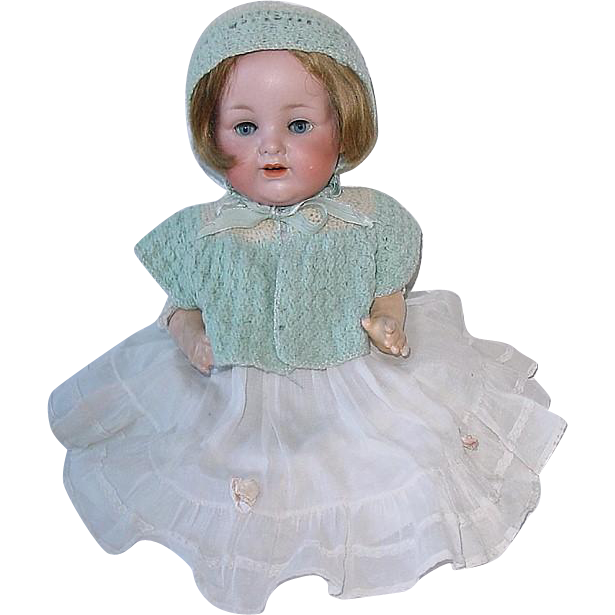 "Antique German 14"" Armand Marseille AM 990 Baby Doll"