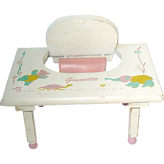 Vintage 1950s Vogue GINNETTE Play Table