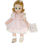Vintage BKW Wendy Alexander-Kin Doll in Party Dress W/ Wrist Tag