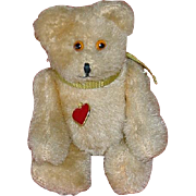 "Vintage 4"" Austrian 1950s Jointed BEAR by Berg"