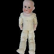 """20"""" Antique German Bisque Doll Kid Body ARMAND MARSEILLE #370"""