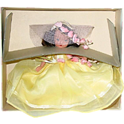 Nancy Ann Storybook Bisque Jointed Leg ~ BRIDESMAID In Yellow ~ MIB