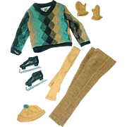 Vintage Ken Outfit ~ #791 FUN On ICE NM/Complete